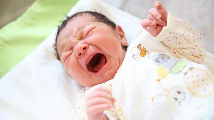 baby cries